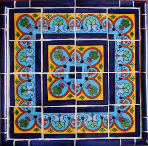 Mexican Talavera Tile Mural Set